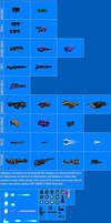 Weapon Sprite Sheet 3