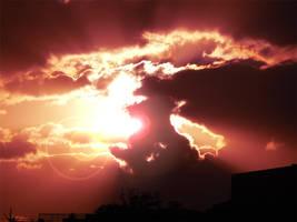 Exploding Sunset by MediaDesign