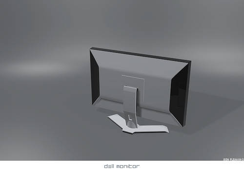 Dell monitor 3D -WIP