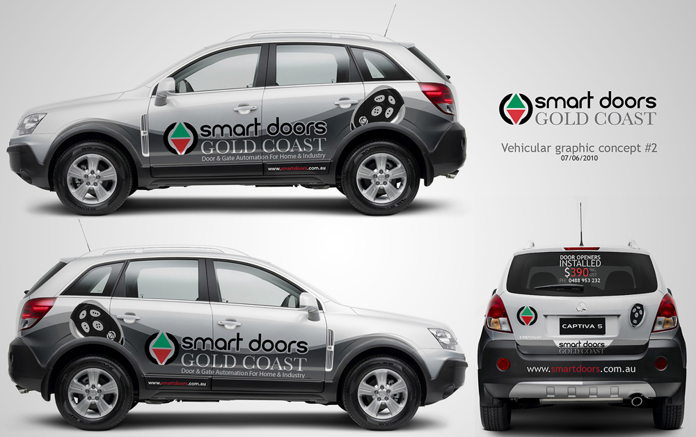 Smart Openers Vehicle Graphics by MediaDesign