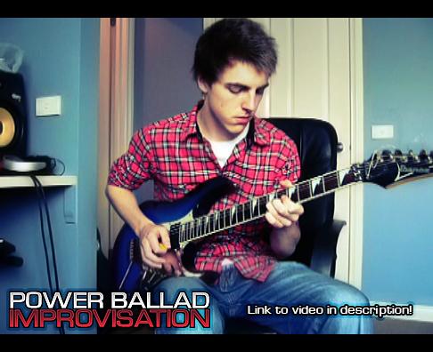 Power Ballad Guitar solo by MediaDesign