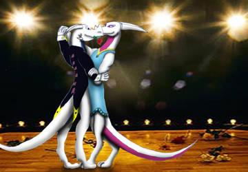 dragon dance by whitedragonguardian
