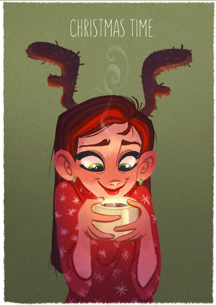 Christmas hot choco by Martenitza
