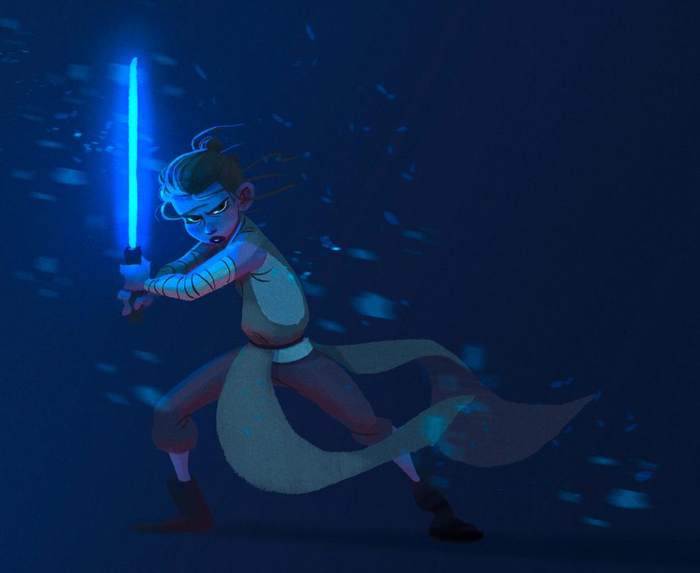 Rey illustration by Martenitza