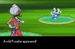 A wild Froakie appeared by fakemon123