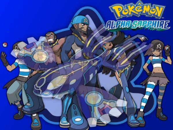 Team Aqua  Pokemon Alpha Sapphire  Wallpaper by fakemon123Team Aqua Wallpaper