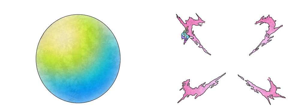 Mega Evolution Background Ball Template By Fakemon123 On Deviantart