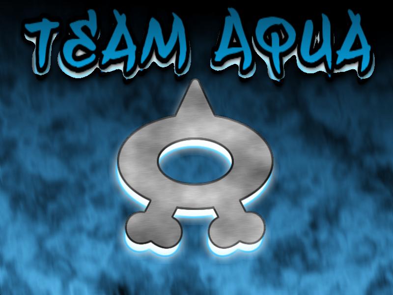 Team Aqua Wallpaper by fakemon123Team Aqua Wallpaper