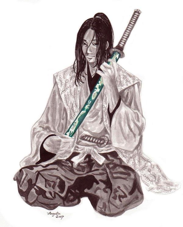 佐々木小次郎座剣
