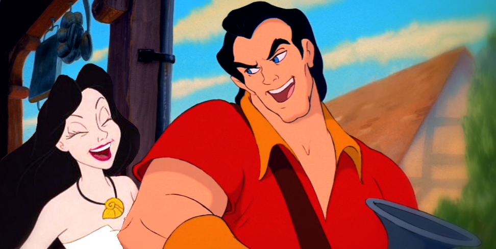 Having a good time Gaston and Ursula by Robono