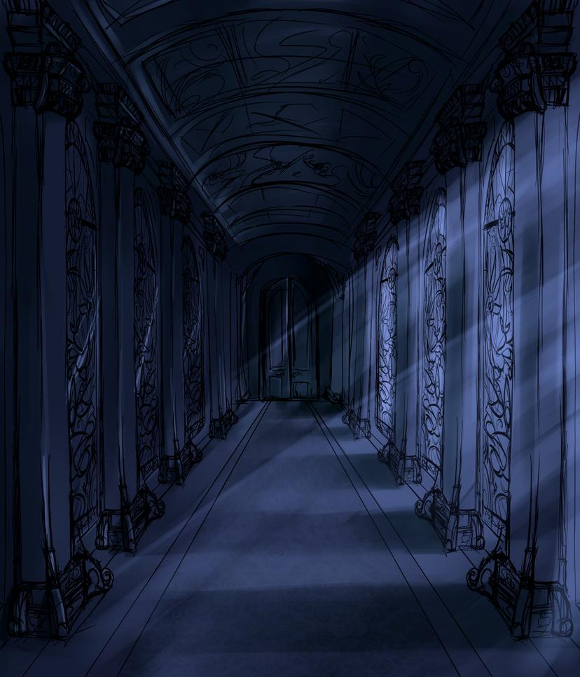The corridor by djaimon on deviantart - Wallpaper corridor ...