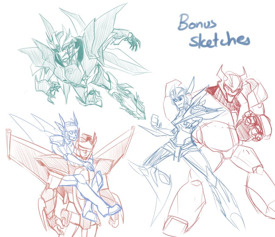 More Bonus Sketches by DJaimon