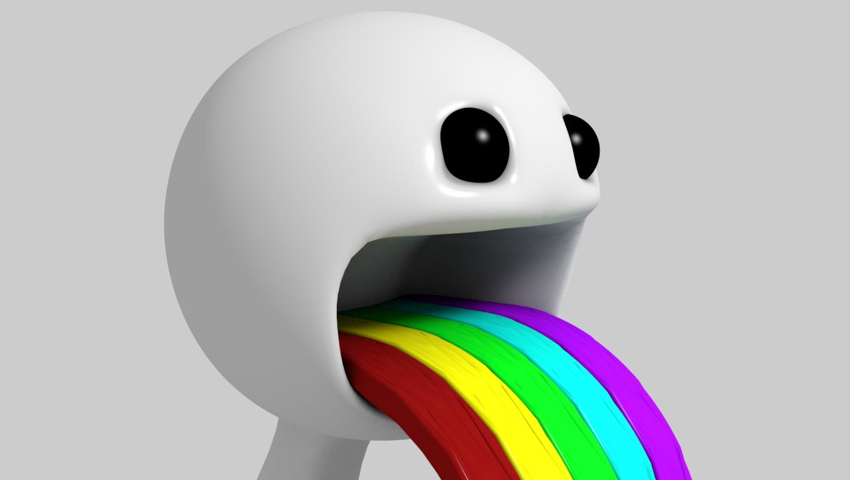 Puking Rainbow by VERT...