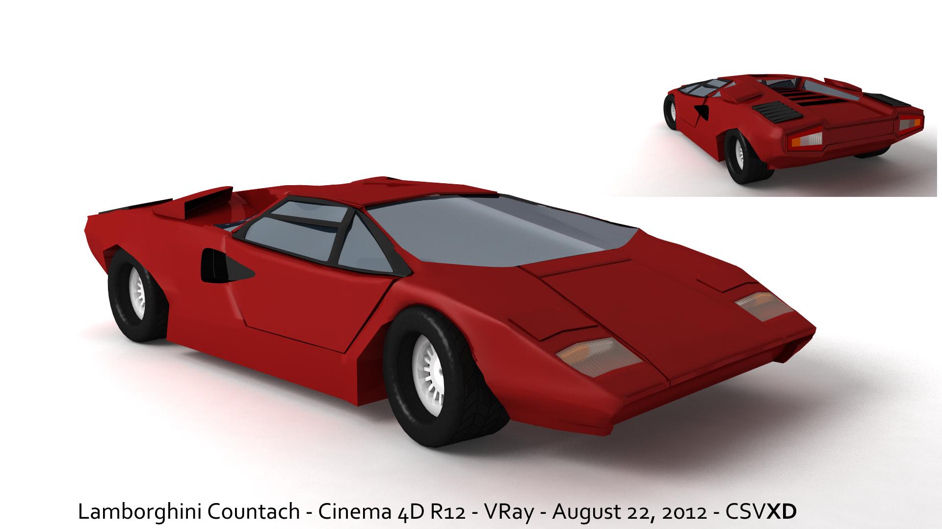 _vray_4_c4d__lamborghini_countach_by_collanitysv-d5c3ttr Marvelous Lamborghini Countach Nfs Hot Pursuit Cars Trend