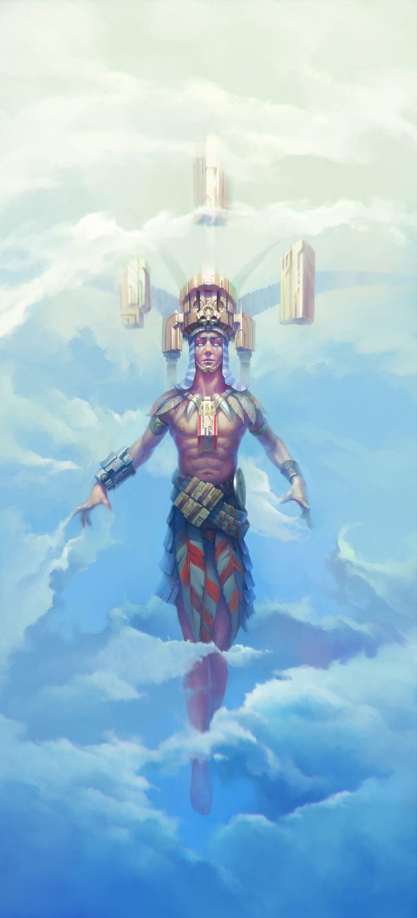 Heavenly keeper by NikSequoyah