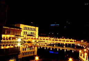 poiana brasov by night