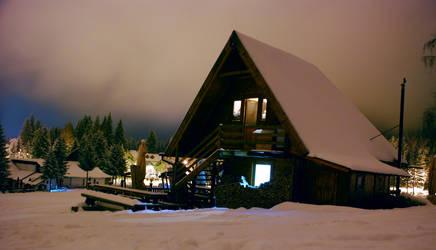 winter house by cornelvoicu1989