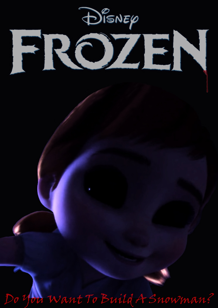 Movie Poster: Frozen Horror by SaiyumiMelodic on DeviantArt