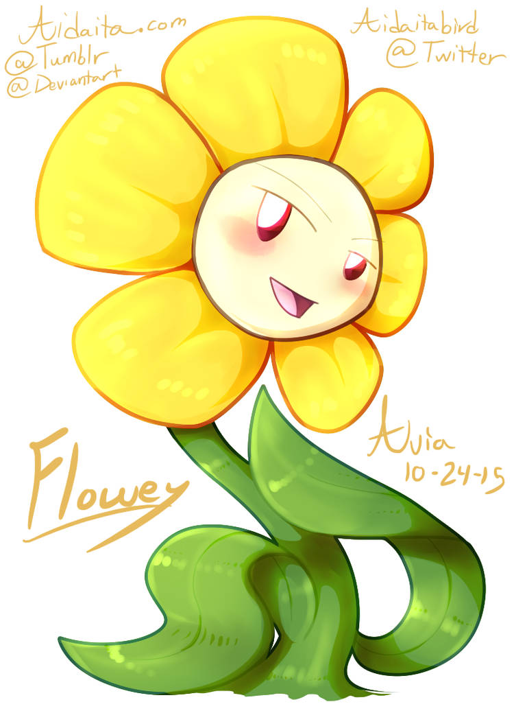Flowey by GoldLiza21 on DeviantArt