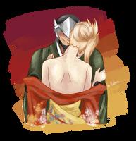 Kimono by MaievsLantern