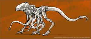 Prometheus: HammerPede Side Profile Concept by Dezarath