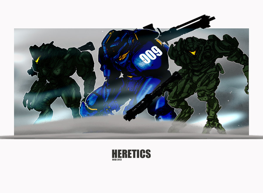 Halo Heretics by Dezarath