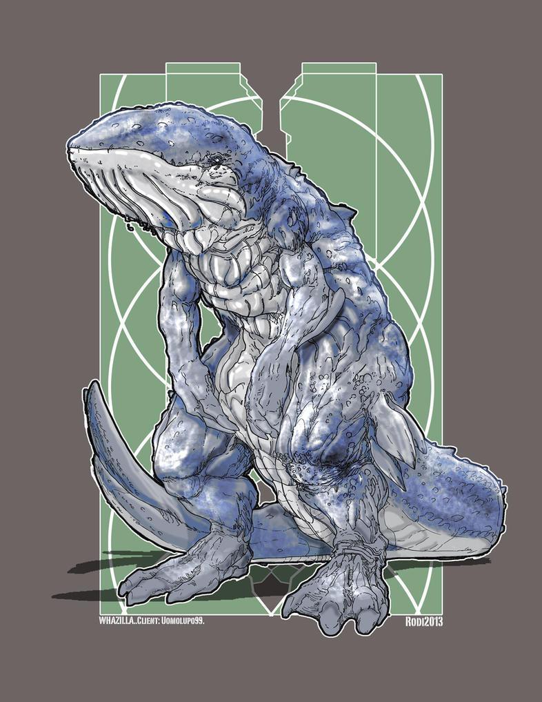 Kaiju Combat Whazilla by Dezarath on DeviantArt Pacific Rim Concept Art