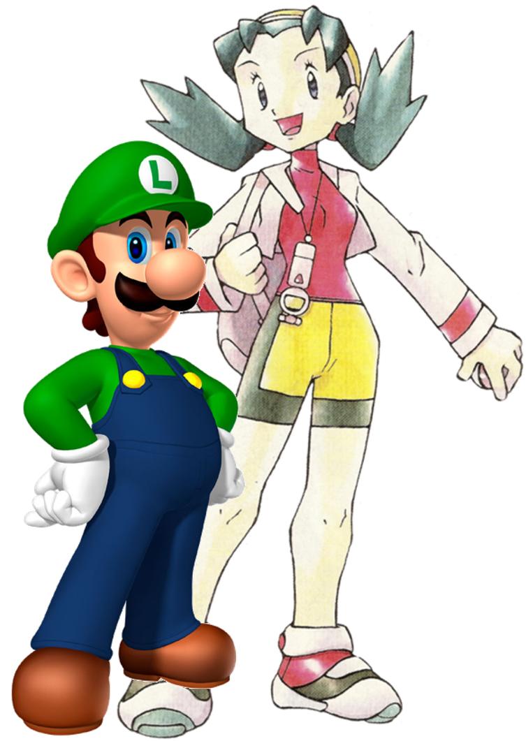 Kris And Luigi by ventluvsaile