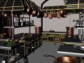 Challenge #29: Gusteau's Kitchen (Ratatouille) by hgagne