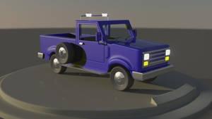 Pickup Truck by hgagne