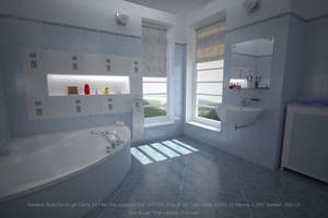 Bathroom: Brute Force/Light Cache by hgagne