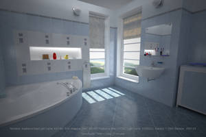 Bathroom: Irridiance Map/Light Cache by hgagne
