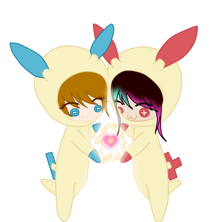 plusle and minun  33 by todaysmyday-d5b7dyd pngPlusle And Minun