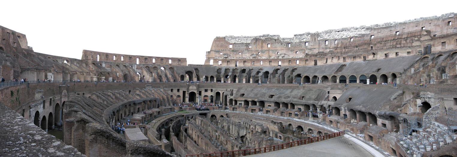 Roman Coliseum by thisisanton