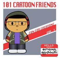 101 Cartoon Friends book