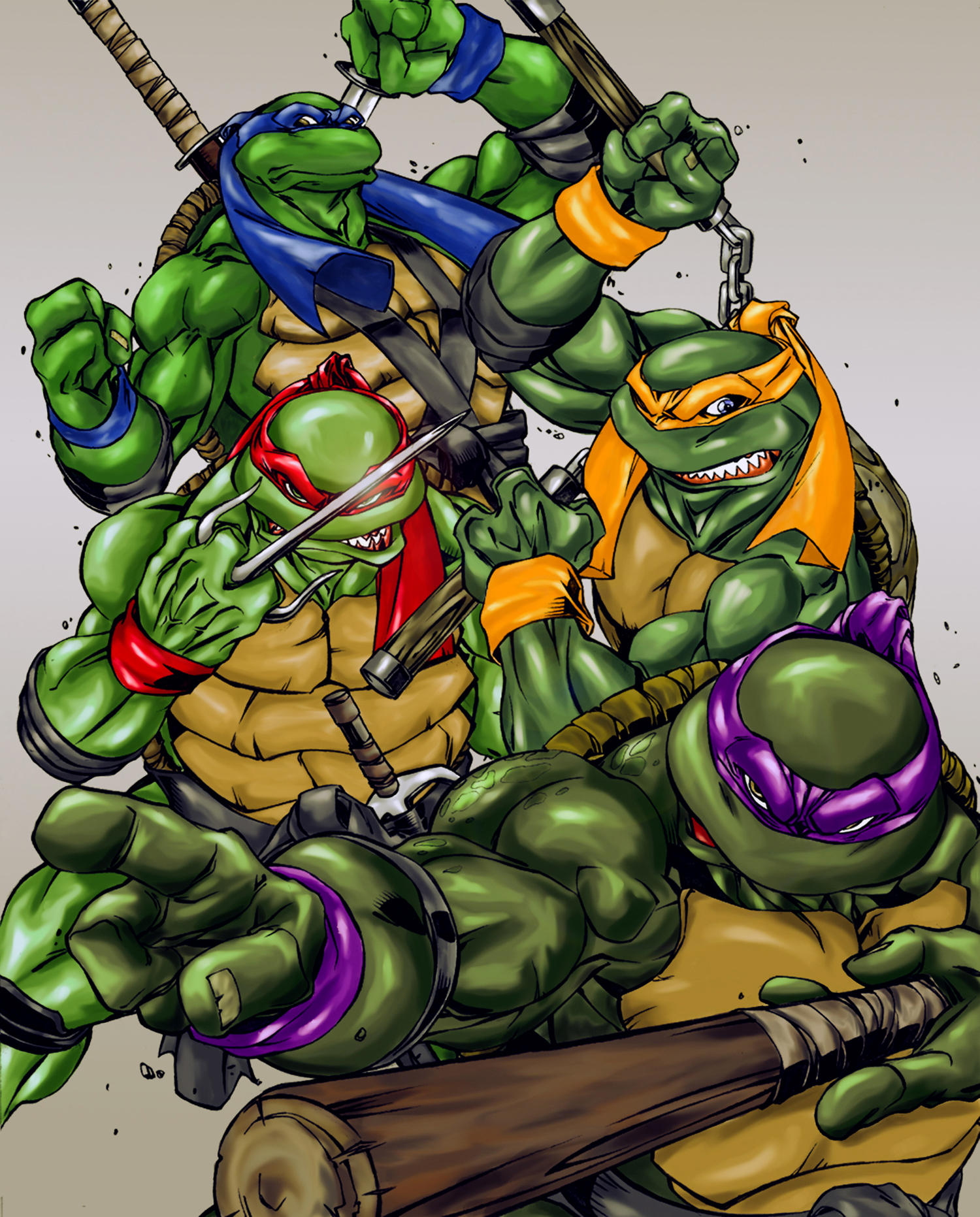 Ninja Turtles by thisisanton