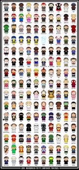 150 Cartoon Friends