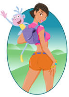 Dora the Explorer by thisisanton