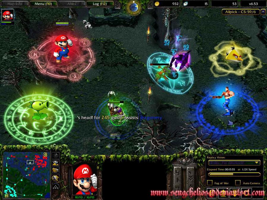 dota game disaster by sengchelios on deviantart