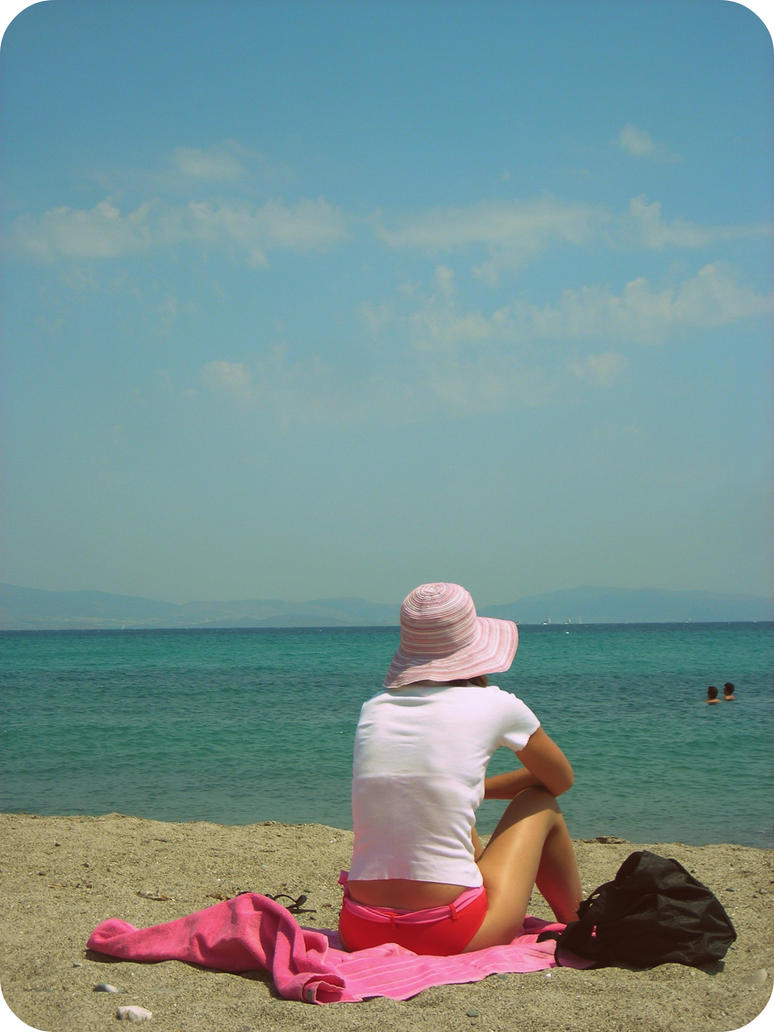 sitting on the beach essay Creative Writing - Beach Holiday