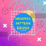 Memphis Pattern Brush #2