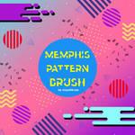 Memphis Pattern Brush #3