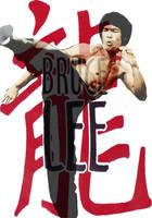 Bruce Lee by kusanagi600