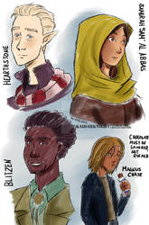 Magnus Chase and the Gods of Asgard casts