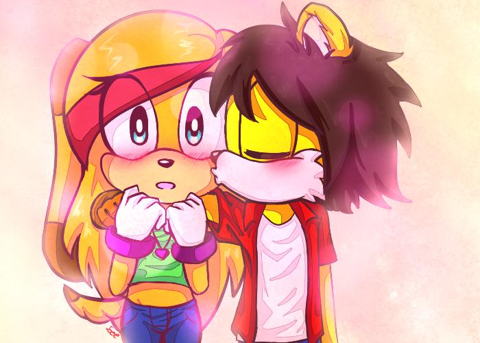 just a kiss by leechana