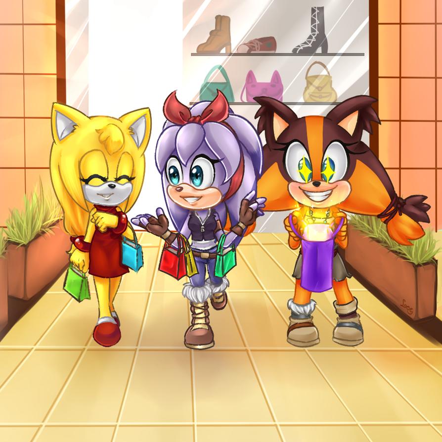 .:CE:.  Let's go Shopping! by leechana
