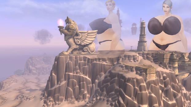 Uldum and giantess