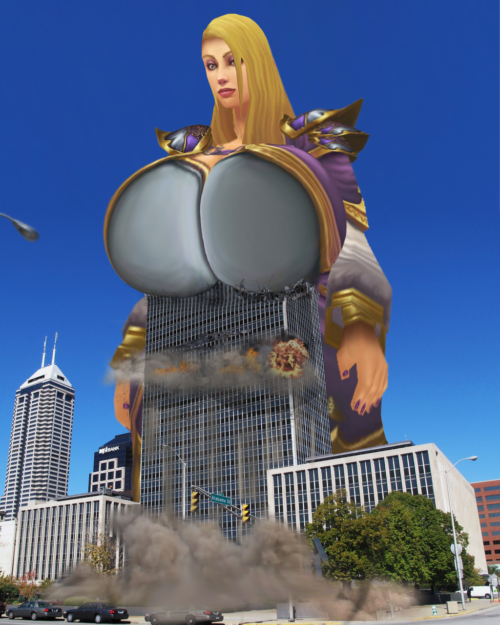 Warcraft boob adult toons