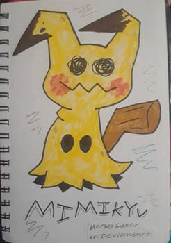 Mimikyu (traditional art/ pokemon fanart)