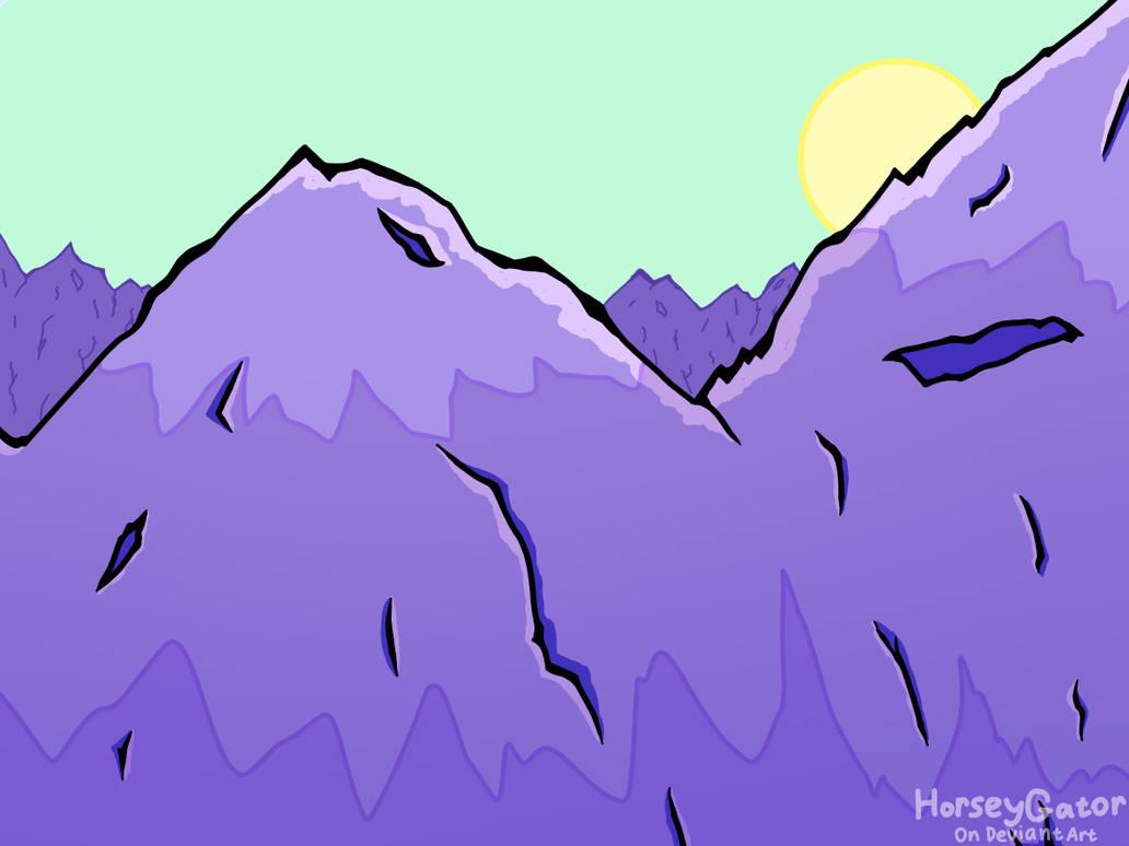 Mountains (digital art)